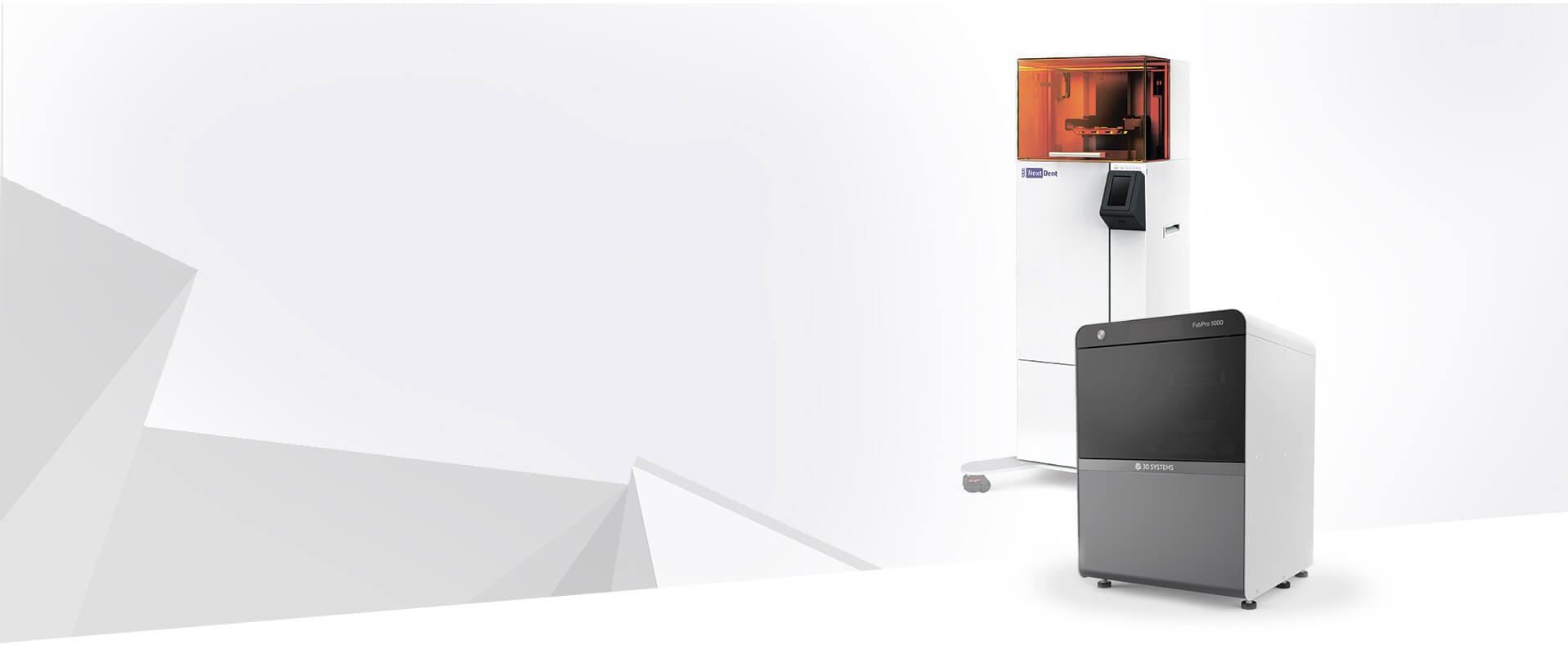 3D печать с принтером NextDent от 3DSystems
