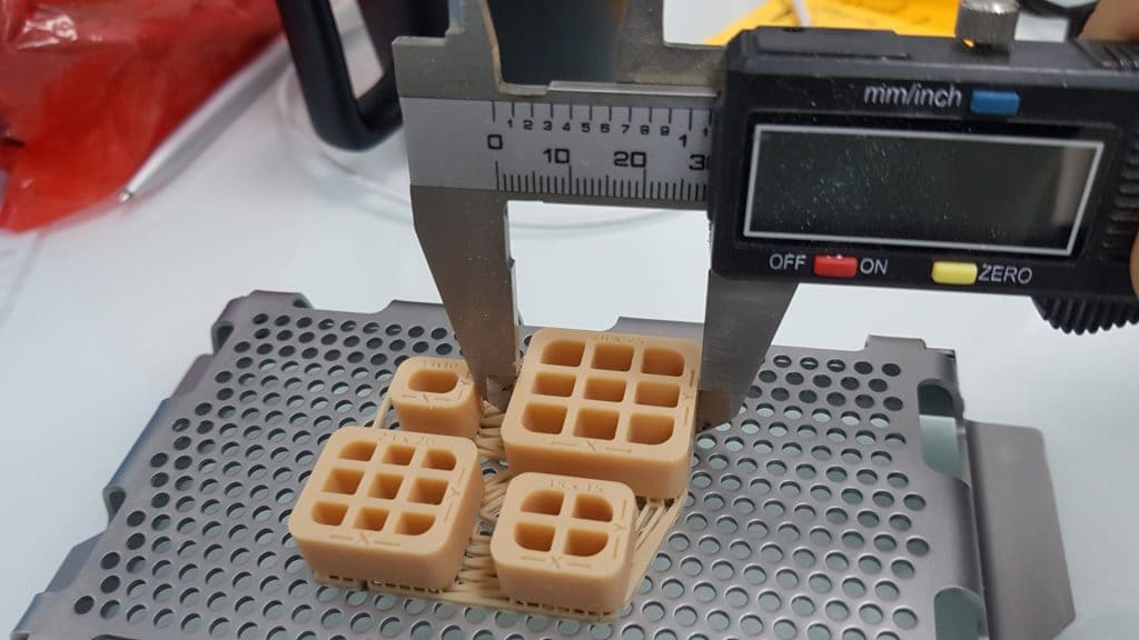 Точность моделей, напечатанных на NextDent